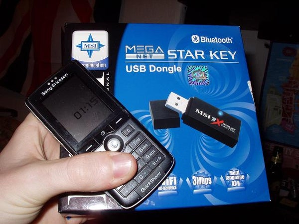 Using Your Bluetooth Enabled Sony Ericsson Phone to Control Your Computer