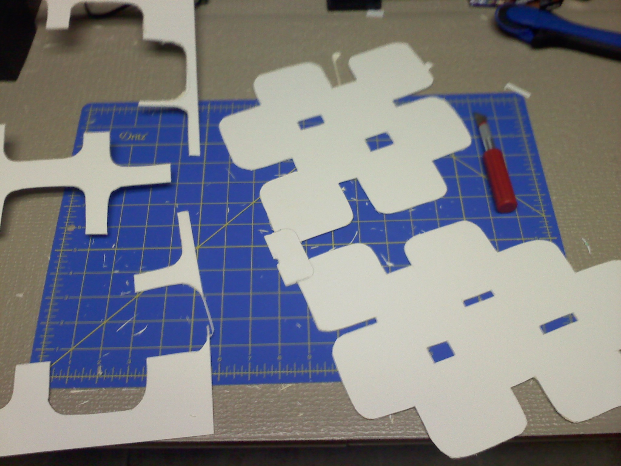 Picture of Cut Out the Pattern