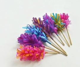 DIY Easy Paper Hyacinth Flowers