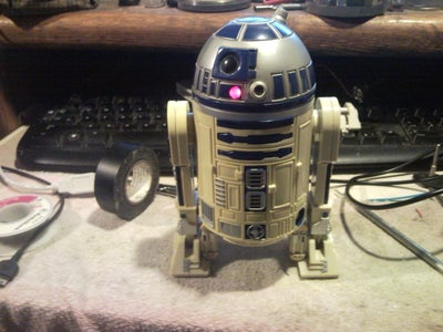 R2D2  5 Port USB  Power Supply Unit. This Is the Droid Your Looking For.