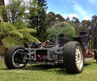 Electric Vehicle - a Simple Lightweight EV Platform