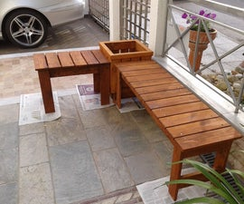 Bench and Planter