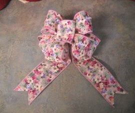 How to Tie a Florist Bow