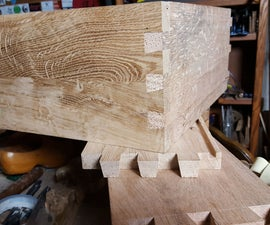 How to Hand Cut Dovetails