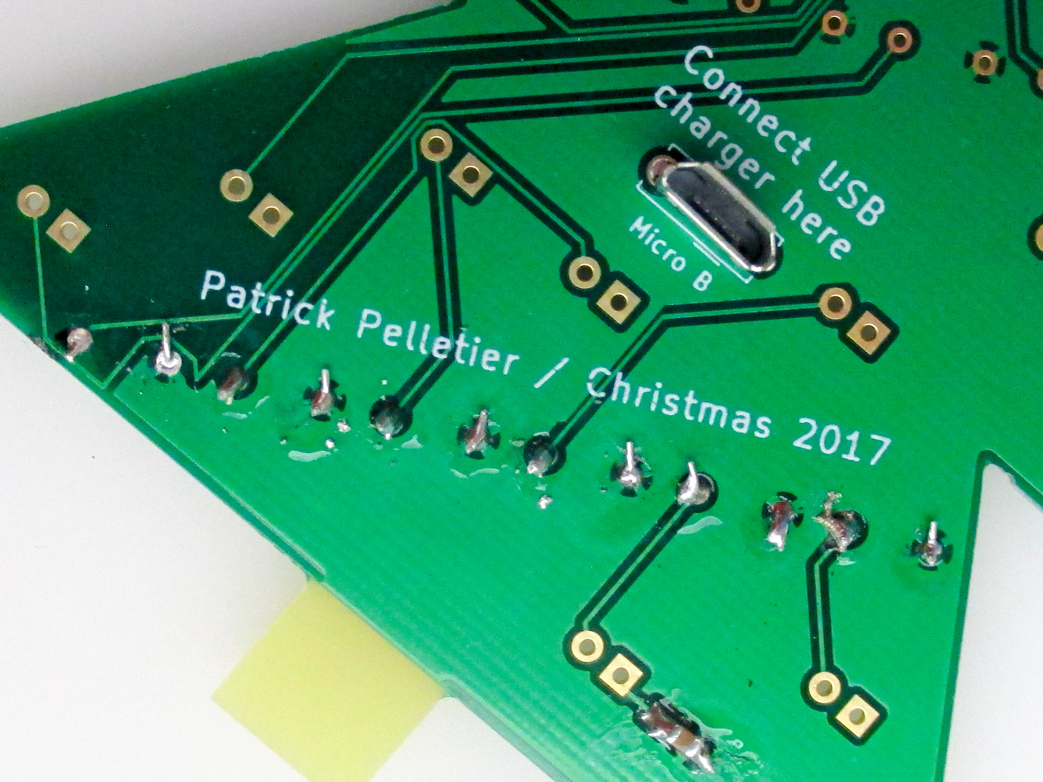Picture of Trim the Legs of the Resistors