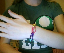 Make a Bracelet Out of Hair Ties