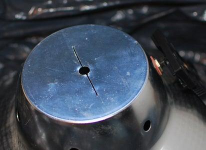 Cut Hole in Lightshade