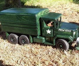 Wooden Reo M35