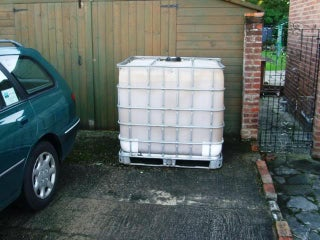 Cladding A 1000 Ltr 250 Gallon Ibc Water Tank 3 Steps With Pictures Instructables