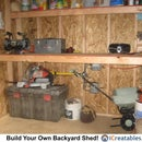 Garden Shed Storage Ideas - Backyard Storage Shed