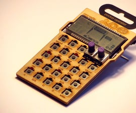 Pocket Operator Lasercut Case