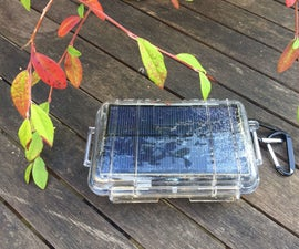 Arduino Controlled Solar Charger and Camping Light