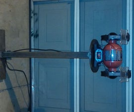 Custom Pedestal Stand for Shop Bench Grinder (Using SMAW Welding)