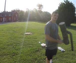 Golf Ball Bazooka/Shoulder Mounted Potato Canon