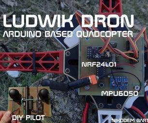 Arduino Drone   Quadcopter (3D Printed)