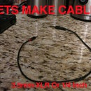 Audio Cables: 3.5mm to 1.4 Inch or XLR & 1/4 Inch or XLR To 3.5mm