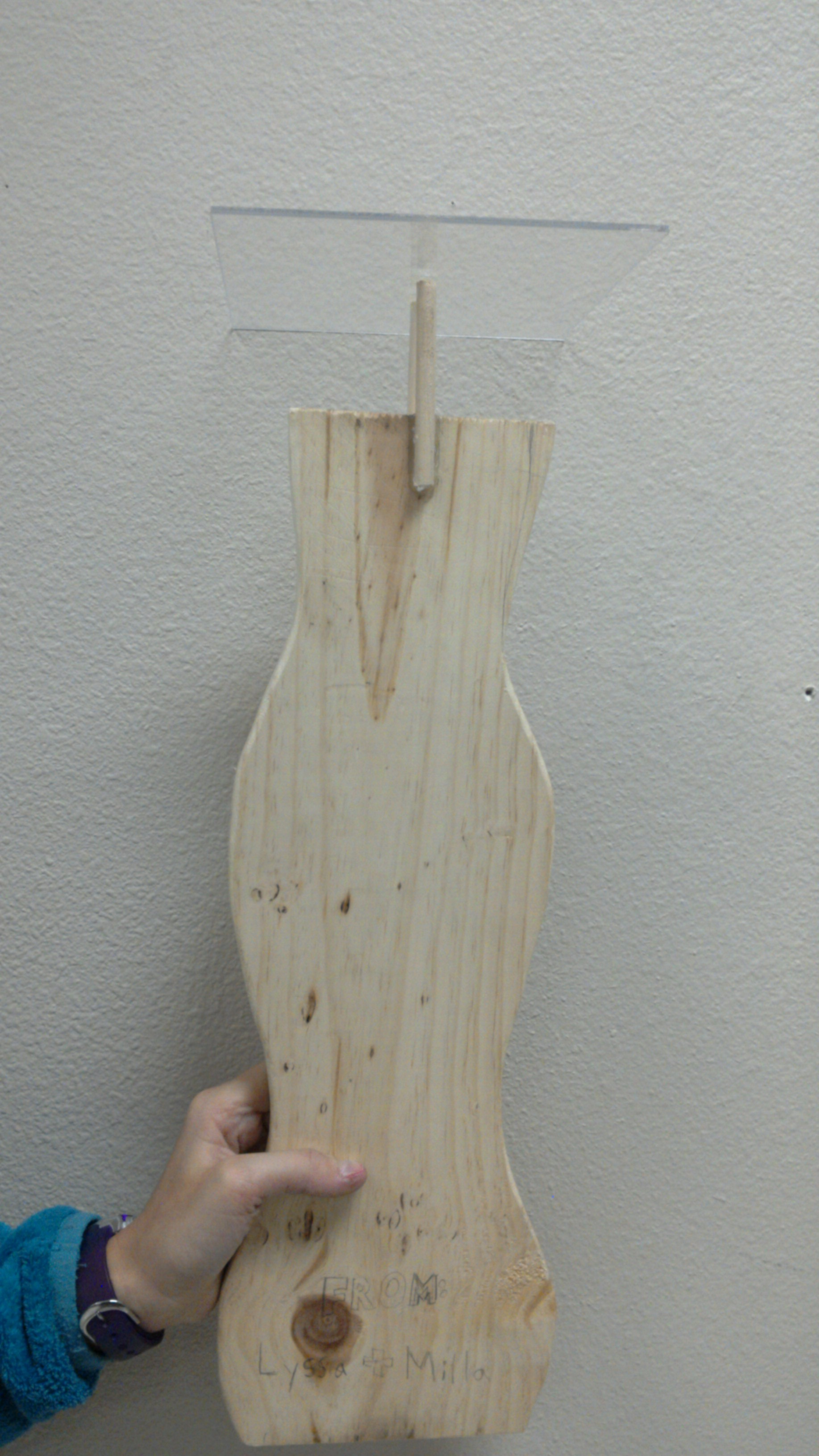 Picture of Cut Your Wooden Dowels and Glue Them