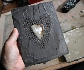 Valentine Heart in Stone