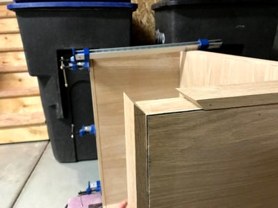 Attach Edging to Side Panels and Bottom Panel