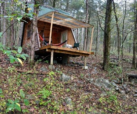 Convertible A-Frame Cabin