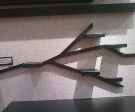 Branch Shaped Display Shelf