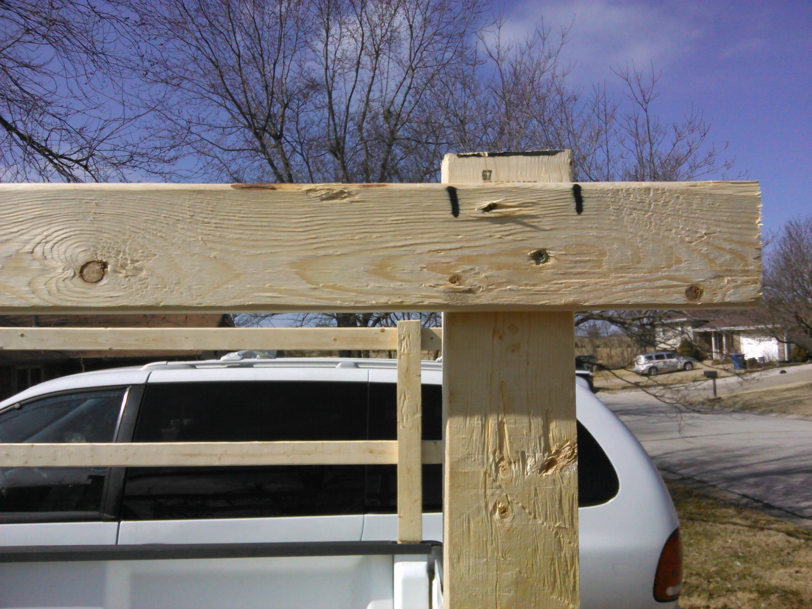 Picture of Truck Side Rails for Under $20