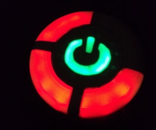 Neopixel Xbox Red Ring of Death Flying Disc