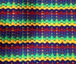 Rug Woven from T-shirts