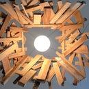 Low Cost Scrap Wood Lamp
