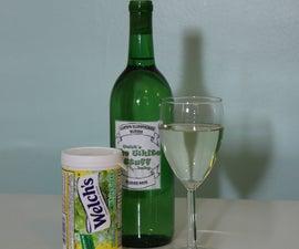 Turn Grape Juice into Delicious Wine