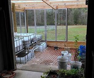 Greenhouse Addition and Aquaponics