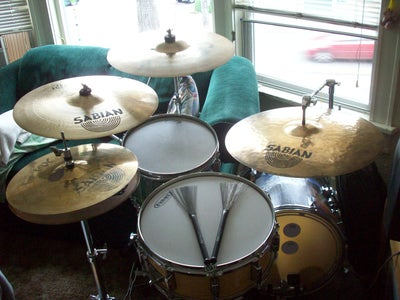 Floor Tom to Kick Drum Conversion on a Tight Budget. +updated+