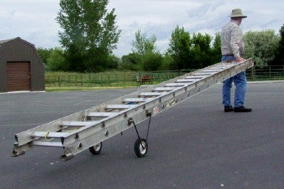 Make a Ladder Easier to Move