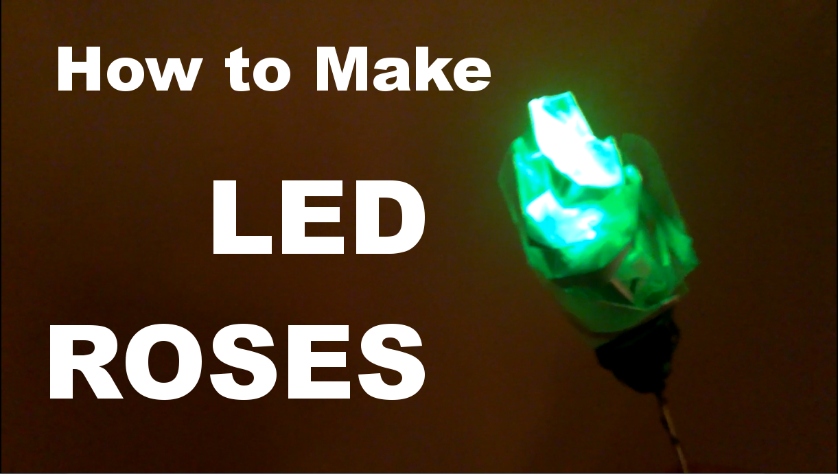 Picture of How to Make an LED Rose