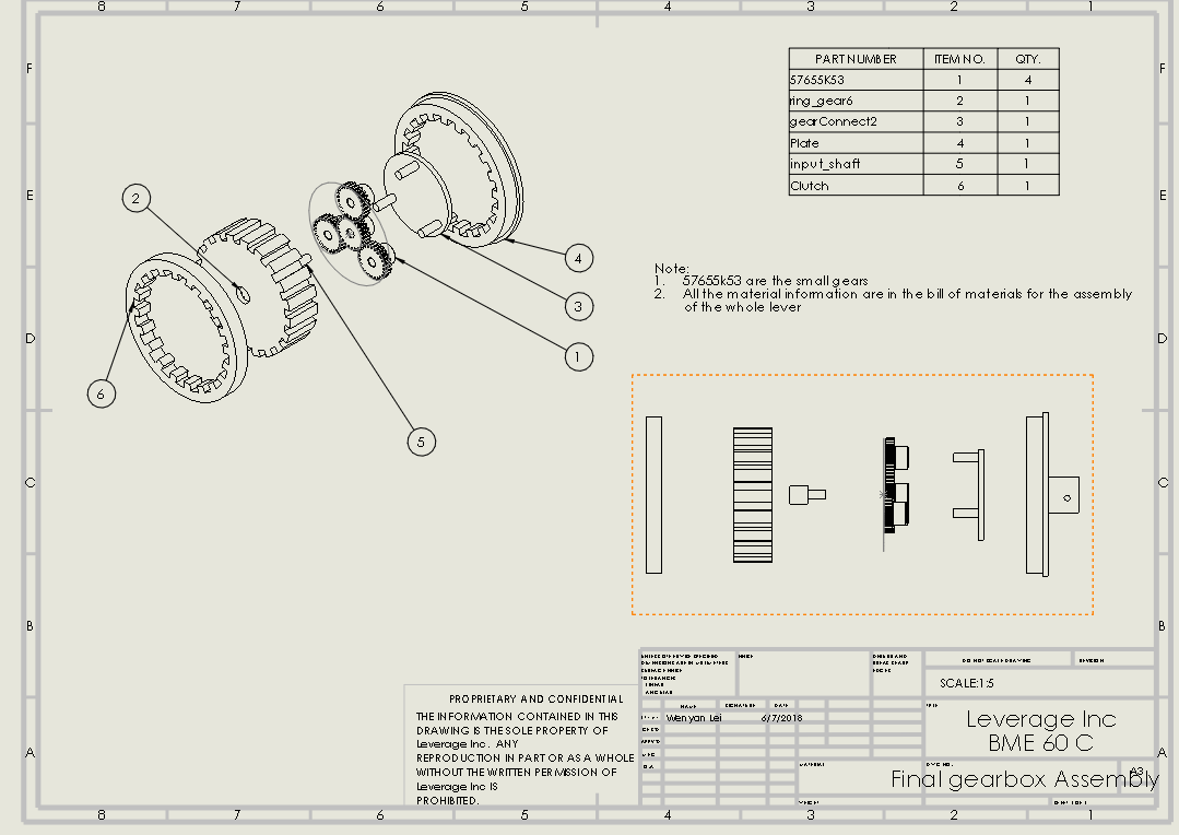 Picture of Planetary Gearbox Assembly