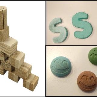 How to Make Concrete at Home: CoRncrete TU Delft - TfCD (Sam Smits& Zsolt Hayde)