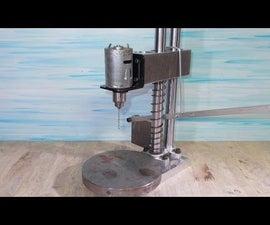 DIY Mini Press Drill Homemade PCB Tools by Aluminium Alloy