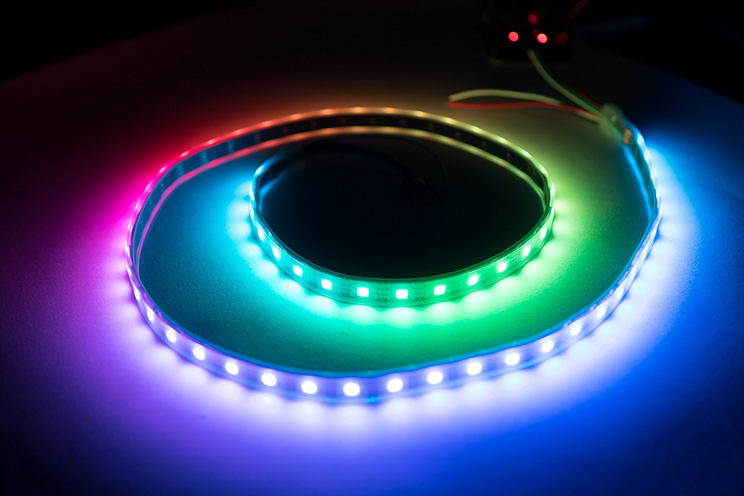 Picture of NeoPixel LEDs