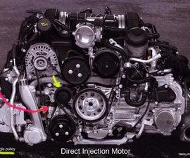 Porsche Boxster 987.2 Serpentine Belt Replacement