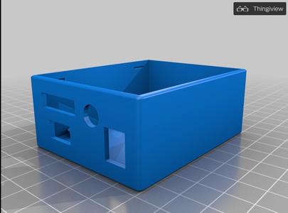3D Printed Case for FM Radio