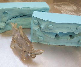 2 Part Silicone Mold