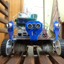 Add 6 Ultrasonic Distance Sensors to Existing Raspberry Pi Robot