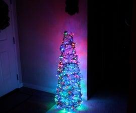 Chicken Wire Christmas Tree