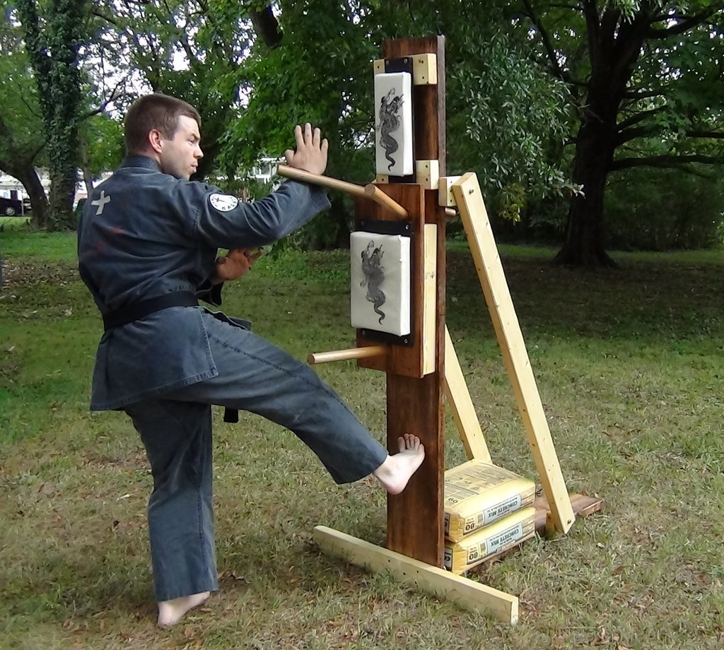 Karate Wooden Dummy 10 Steps With Pictures