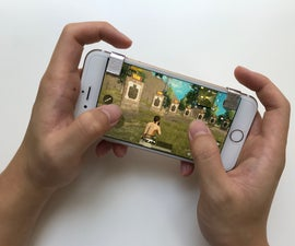 Quick and Easy Clip on Mobile Gaming Trigger Buttons (PUBG, Fortnite)