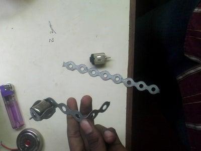 Metal Strip and Motor