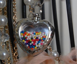 perfect little sprinkle necklace.