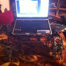 laptop lap-desk and accessories