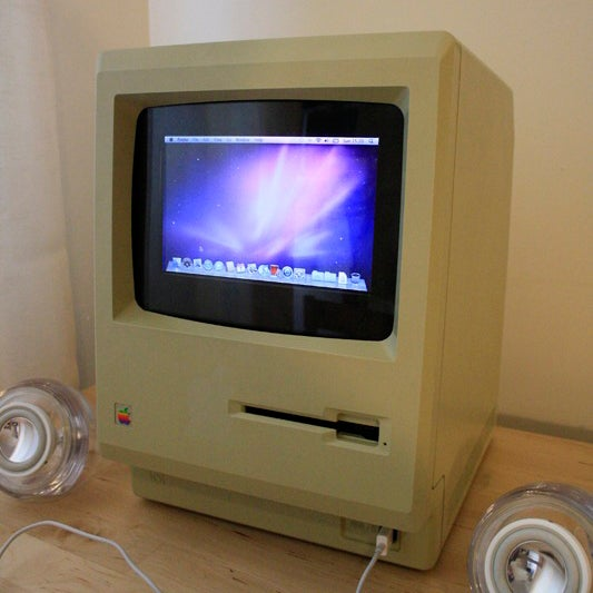 Upgrade Your Original 1984 Macintosh to Run OS X Snow Leopard.