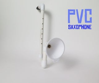 PVC Saxophone!
